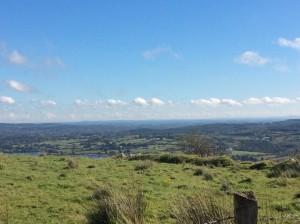 View over Roscommon